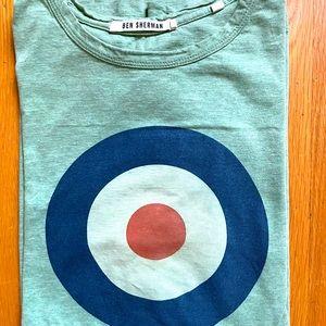 Ben Sherman Bullseye Target Logo T-Shirt Green